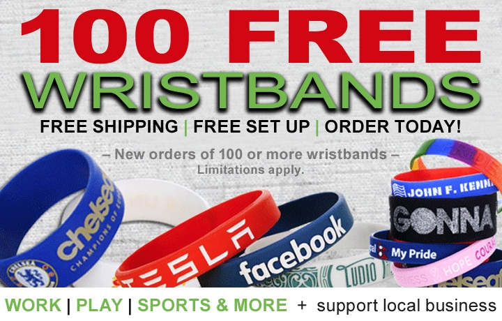 Ink Design Wristband Promo